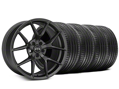 Staggered RTR Tech 5 Charcoal Wheel & Sumitomo Tire Kit - 20x9.5/10.5 (15-17 All)