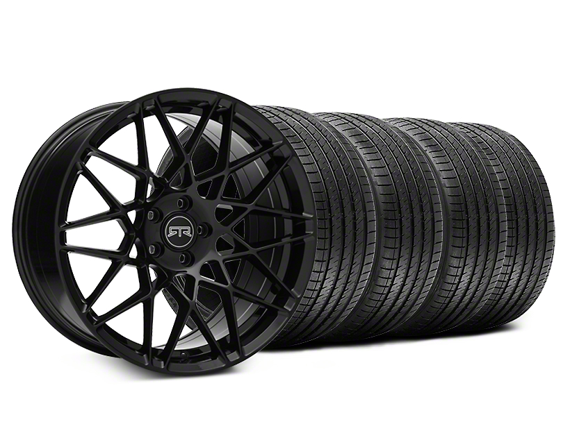 Staggered RTR Tech Mesh Black Wheel & Sumitomo Tire Kit - 20x9.5/10.5 (15-18 All)