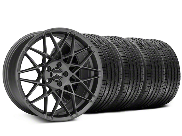 Staggered RTR Tech Mesh Charcoal Wheel & Sumitomo Tire Kit - 20x9.5/10.5 (15-19 All)