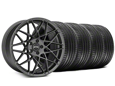 Staggered RTR Tech Mesh Charcoal Wheel & Sumitomo Tire Kit - 20x9.5/10.5 (15-18 All)