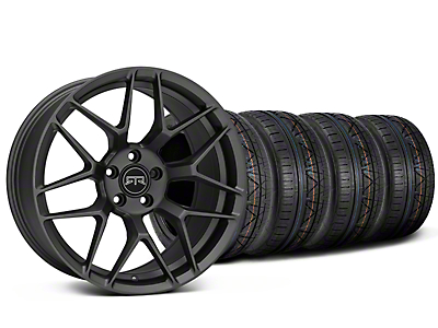 Staggered RTR Tech 7 Charcoal Wheel & NITTO INVO Tire Kit - 20x9.5/10.5 (15-19 GT, EcoBoost, V6)