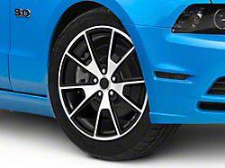 50 Years Style Gloss Black Machined Wheel; 19x8.5 (10-14 All)