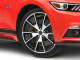 50 Years Style Gloss Black Machined Wheel; 20x8.5 (15-20 GT, EcoBoost, V6)