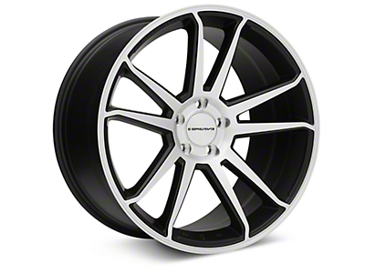 Concavo CW-S5 Matte Black Machined Wheel - 20x10.5 (15-17 All)