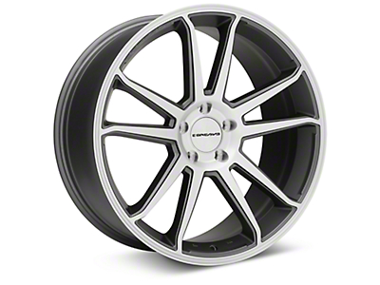 Concavo CW-S5 Matte Gray Machined Wheel - 20x9 (05-14 All)