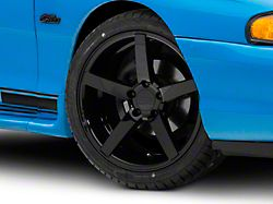 Rovos Durban Gloss Black Wheel; 18x9 (94-98 All)