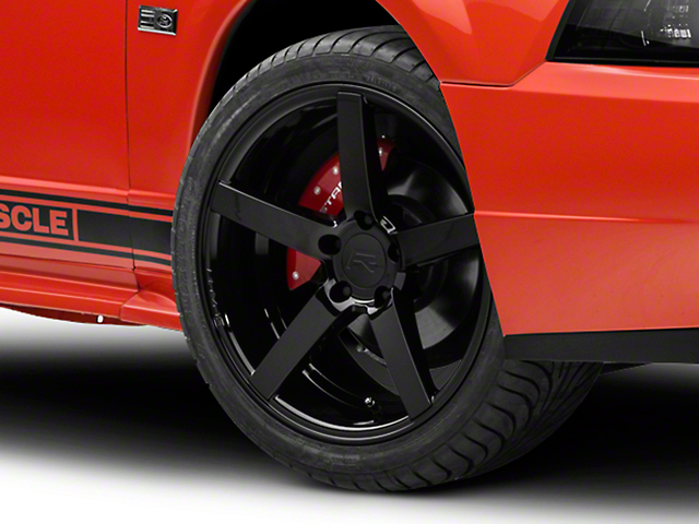 Rovos Durban Gloss Black Wheel; 18x9 (99-04 All)