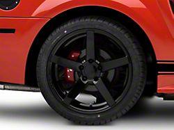 Rovos Durban Gloss Black Wheel; Rear Only; 18x10.5 (99-04 All)