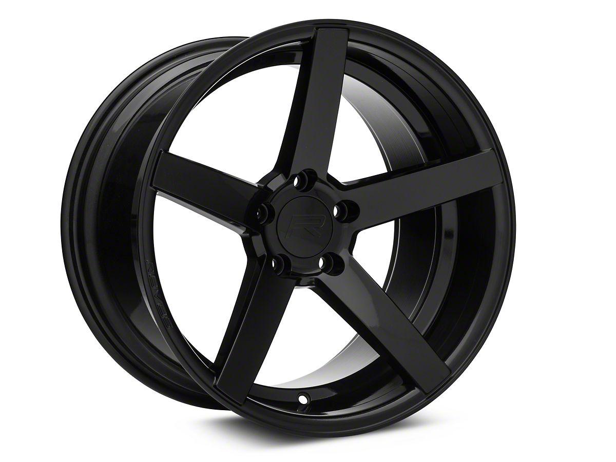 Rovos Durban Gloss Black Wheel - 18x10 5 - Rear Only (94-04 All)