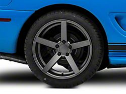 Rovos Durban Gunmetal Wheel; Rear Only; 18x10.5 (94-98 All)