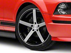 Rovos Durban Brushed Black Wheel; 20x8.5 (05-09 All)
