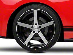 Rovos Durban Brushed Black Wheel - 20x10 - Rear Only (15-19 GT, EcoBoost, V6)