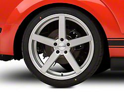 Rovos Durban Brushed Silver Wheel; Rear Only; 20x10 (05-09 All)