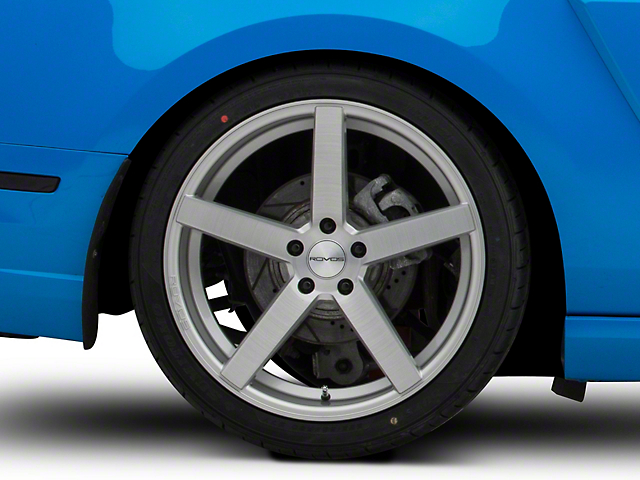 Rovos Durban Brushed Silver Wheel; Rear Only; 20x10 (10-14 All)