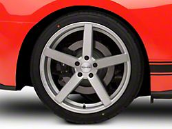 Rovos Durban Brushed Silver Wheel - 20x10 - Rear Only (15-19 GT, EcoBoost, V6)