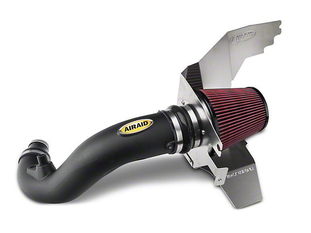 Airaid Race Cold Air Dam Intake with Track Day Dry Filter (15-17 EcoBoost)