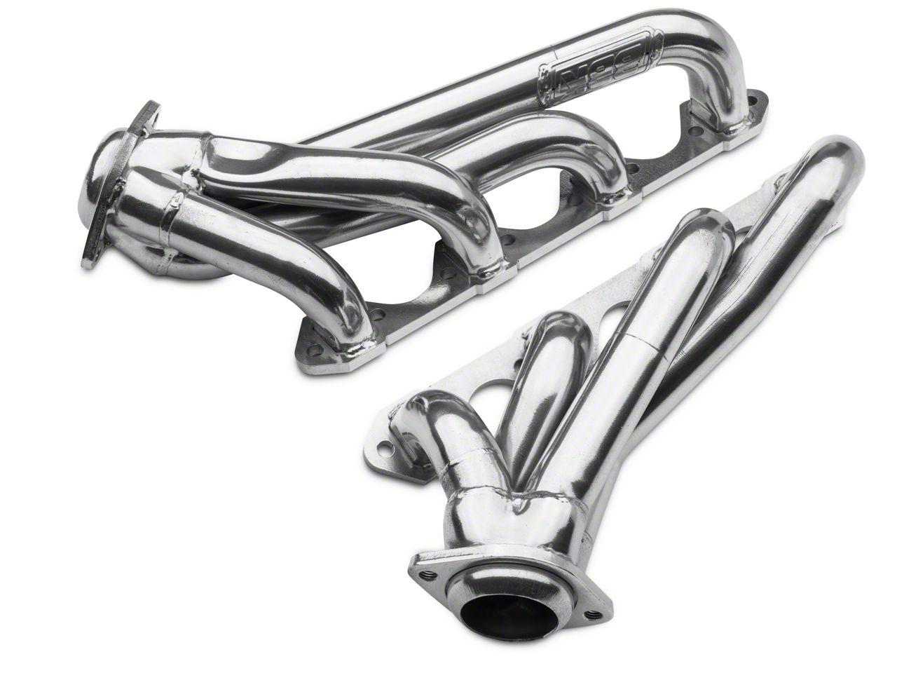 "79-93 Mustang 5.8L V8 BBK 351 Swap 1-5//8"" Chrome Unequal Length Shorty Headers"