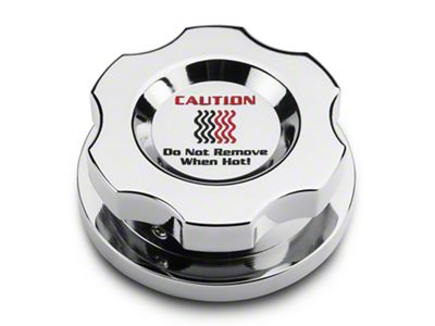 Add Modern Billet Chrome Radiator Cap Cover (15-17 All)