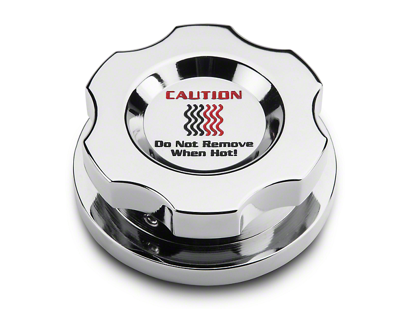 Modern Billet Chrome Radiator Cap Cover (15-18 All)