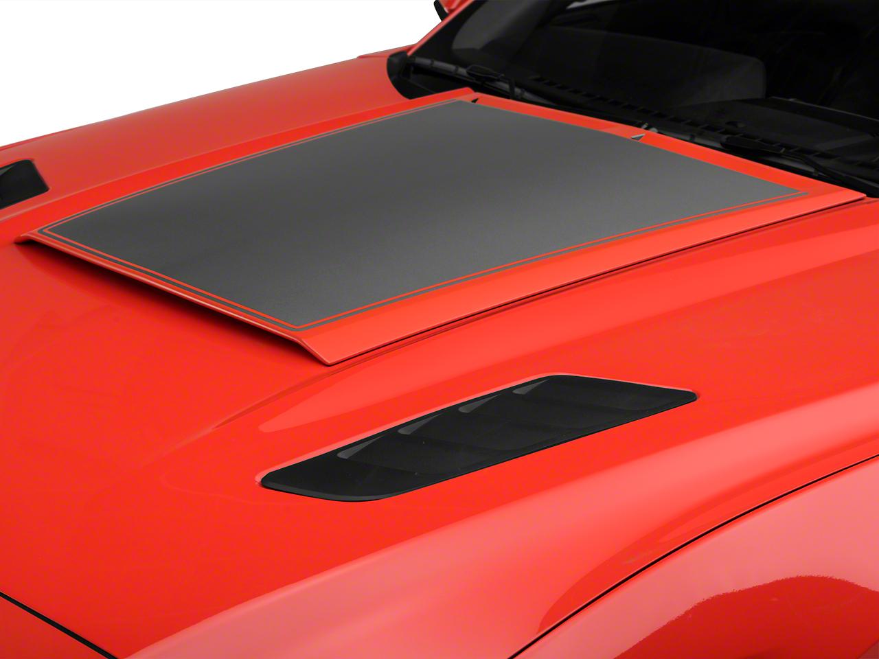Roush Heat Extractors - Molded Black (15-17 GT)
