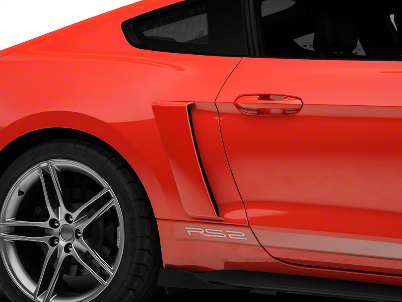 roush mustang quarter panel side scoops unpainted 421870. Black Bedroom Furniture Sets. Home Design Ideas