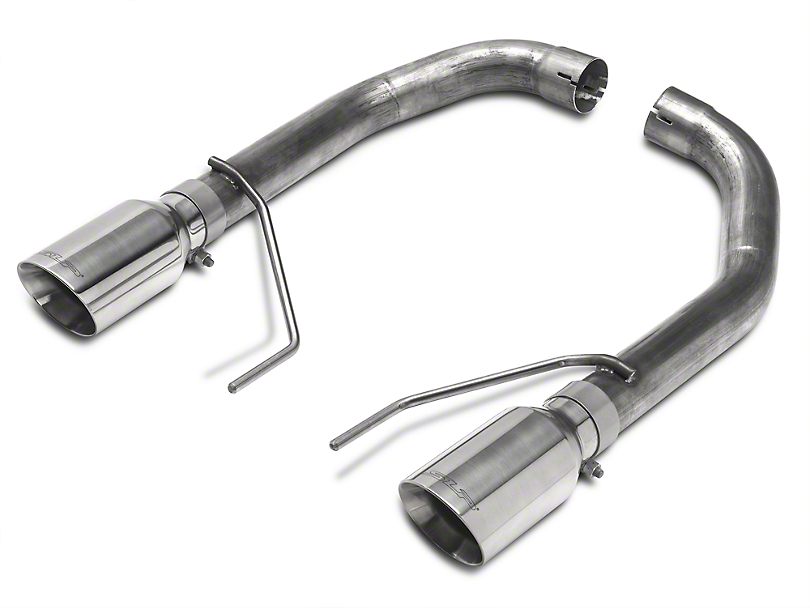 SLP Loudmouth Muffler Delete Axle-Back Exhaust (15-17 GT Fastback)