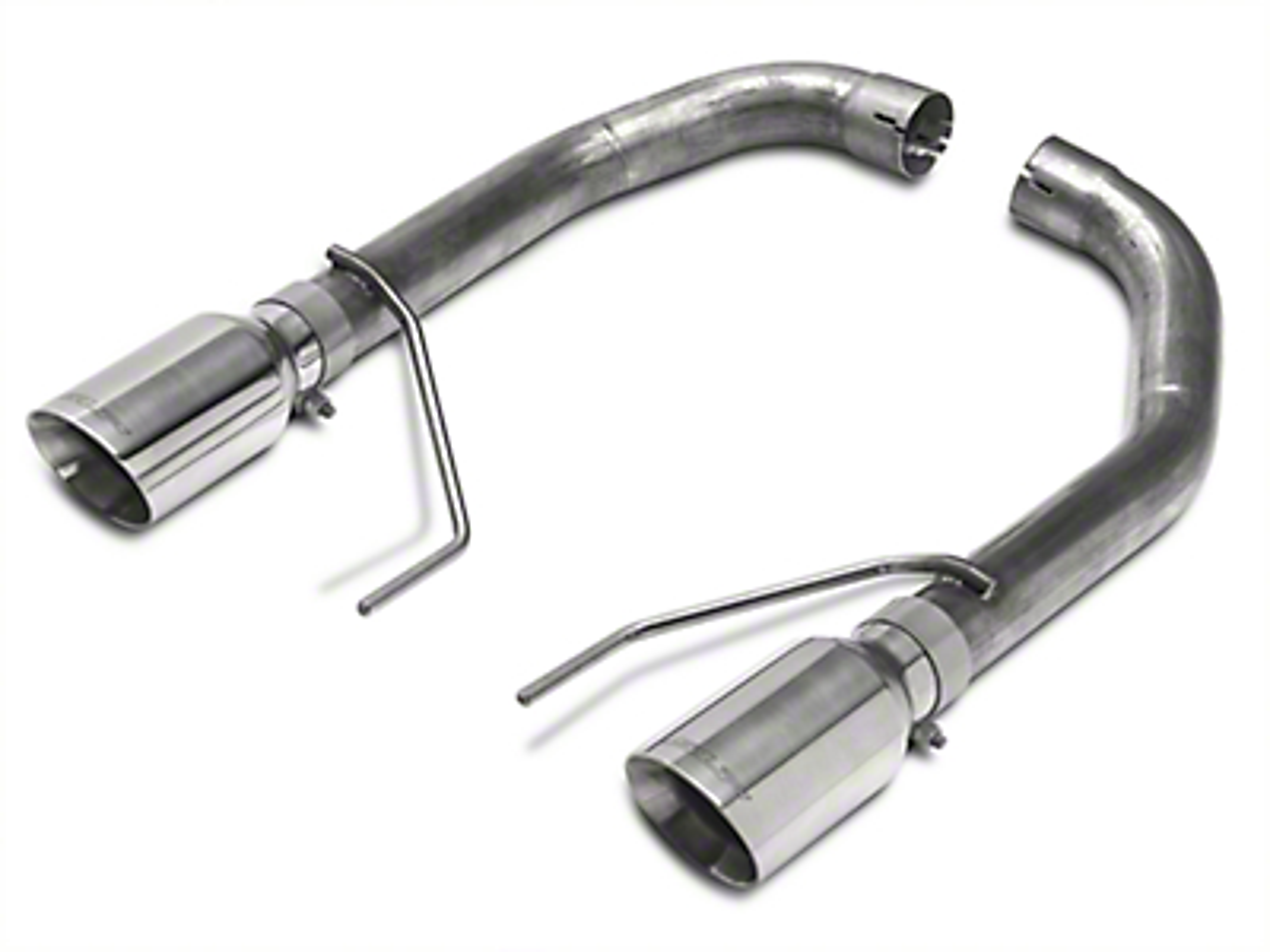 SLP Loudmouth Muffler Delete Axle-Back Exhaust (15-17 GT Fastback)