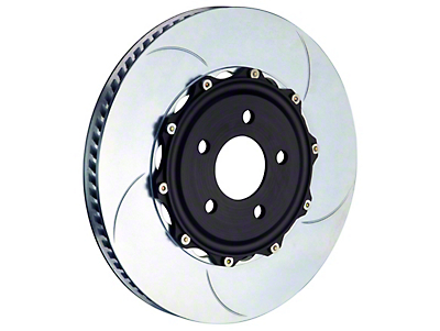 Brembo 2-Piece 14 in. Type 1 Slotted Rotors - Front Pair (11-14 GT Brembo, 12-13 BOSS, 07-12 GT500)