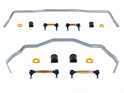 Whiteline Heavy Duty Adjustable Front & Rear Sway Bars (15-18 All)