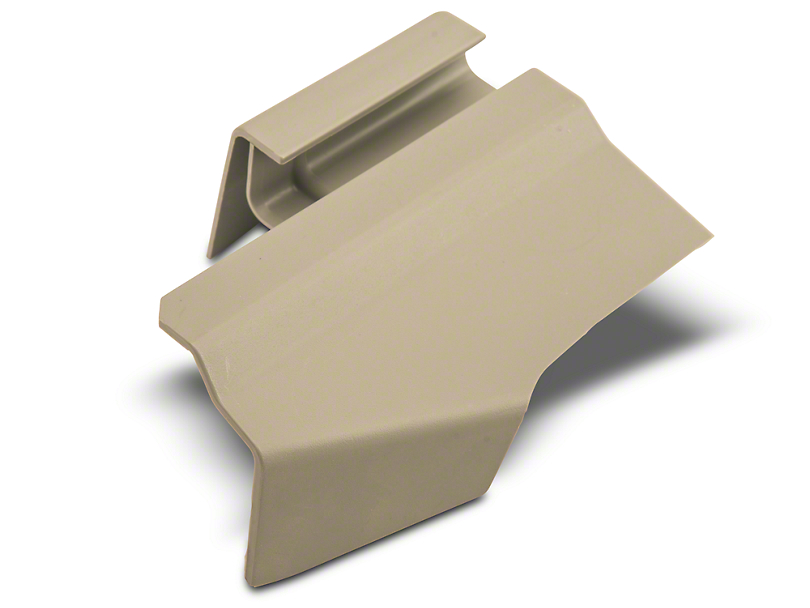 Ford Outer Rear Driver Seat Track Cover - Dove (05-14 All)