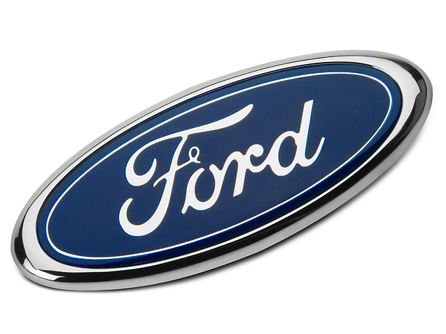 ford mustang gt front oval grille emblem e2gz 8a223 b 83 93 gt rh americanmuscle com Ford Oval of Honor Black Ford Oval Emblem