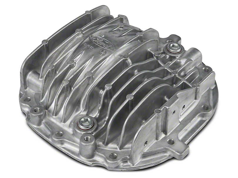Ford GT500 Finned Differential Cover; 8.8-Inch (11-14 V6; 86-14 V8, Excluding 99-04 Cobra)