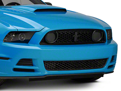 Ford Boss 302 Grille w/o Emblem - Unpainted (13-14 GT; 2013 BOSS 302)