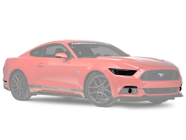 American Muscle Graphics Smoked Tint Kit (15-17 All)