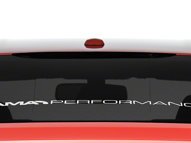 American Muscle Graphics Smoked Third Brake Light Tint (15-17 Fastback)