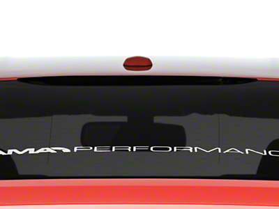 American Muscle Graphics Smoked Third Brake Light Tint (15-19 Fastback)