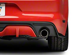 American Muscle Graphics Rear Bumper Marker Tint; Smoked (15-17 All)