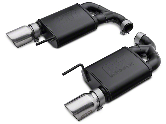 RTR Tactical Performance Competition Spec Axle-Back Exhaust - Polished Tip (15-17 GT)