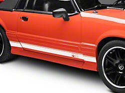 SEC10 Rocker Stripes with AM Logo; White (79-93 All)
