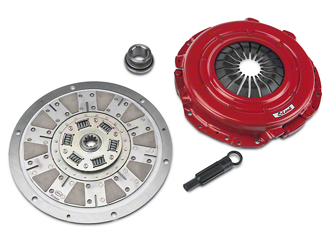 McLeod Street Extreme Ceramic Clutch Kit - 10 Spline (Late 01-04 GT; 99-04 Cobra; 03-04 Mach 1)