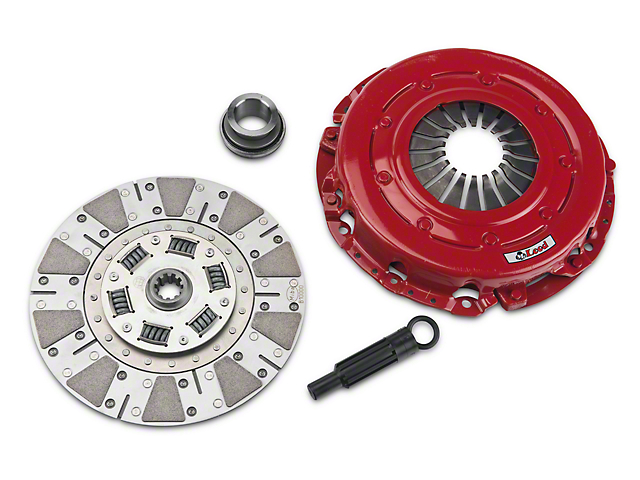 McLeod Street Extreme Ceramic Clutch Kit; 10 Spline (86-Mid 01 GT; 93-98 Cobra)