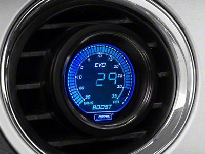 Mustang Dual Color Fuel Pressure Digital Gauge - Electrical