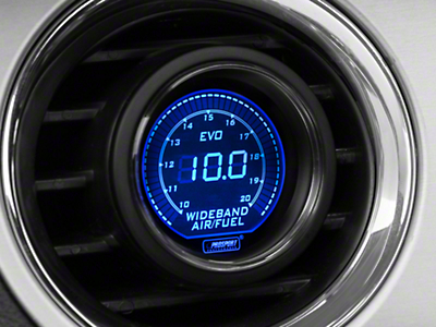 Dual Color Digital Wideband Air/Fuel Ratio Gauge - Blue/Red (79-18 All)