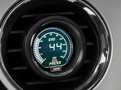 Dual Color Oil Pressure Digital Gauge - Electrical - Green/White (79-18 All)