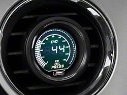 Prosport 52mm EVO Series Oil Pressure Digital Gauge; Electrical; Green/White (Universal Fitment)