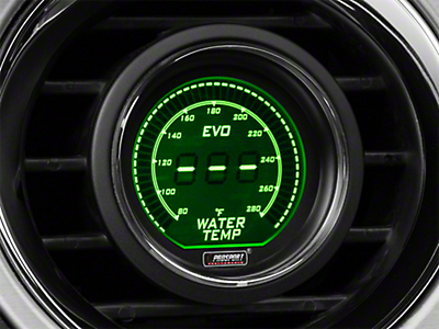 Dual Color Digital Water Temp Gauge - Electrical - Green/White (79-17 All)