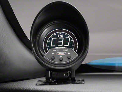 Premium Quad Color Wideband Air/Fuel Ratio Gauge - Digital (79-17 All)