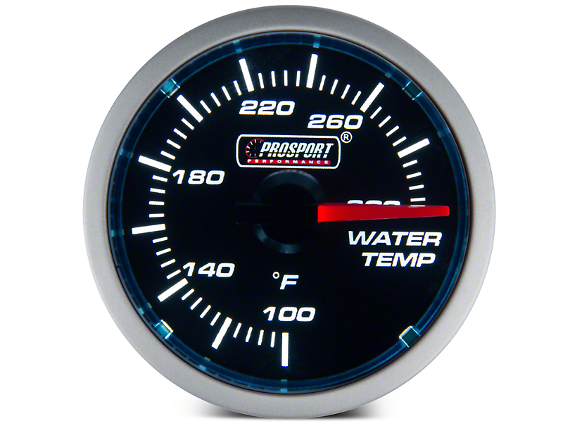 Dual Color Water Temp Gauge - Electrical - Blue/White (79-17 All)