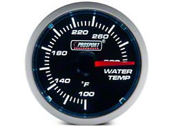 Dual Color Water Temp Gauge - Electrical - Blue/White (Universal Fitment)