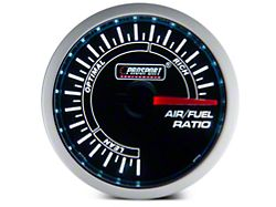 Dual Color Air/Fuel Ratio Gauge - Blue/White (Universal Fitment)